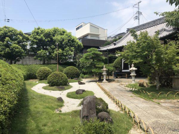 妙見社庭園