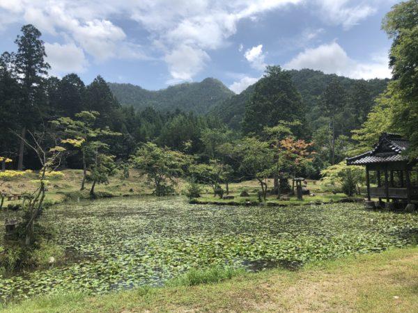 旧福本藩陣屋跡(大歳神社)庭園