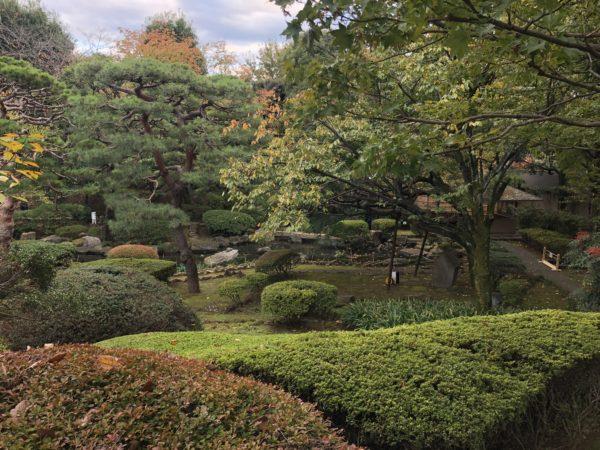 三番町共用会議所(旧山縣有朋邸跡)庭園