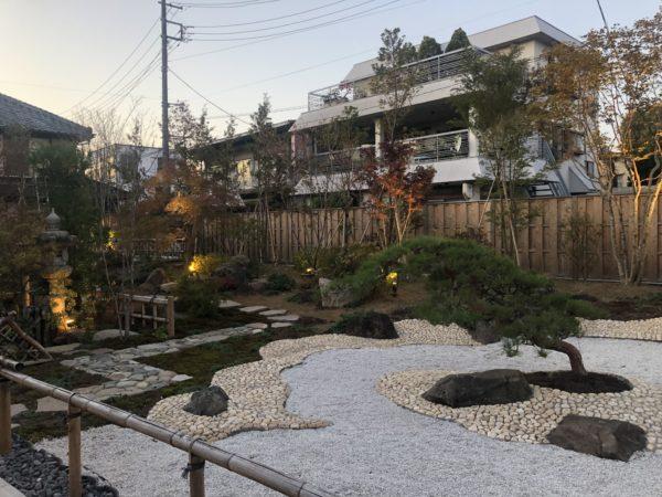 スターバックスコーヒー川越鐘つき通り店庭園
