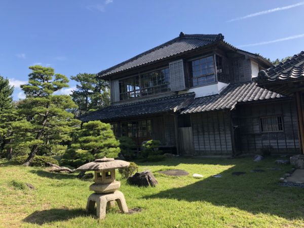 旧高取氏庭園(旧高取邸)