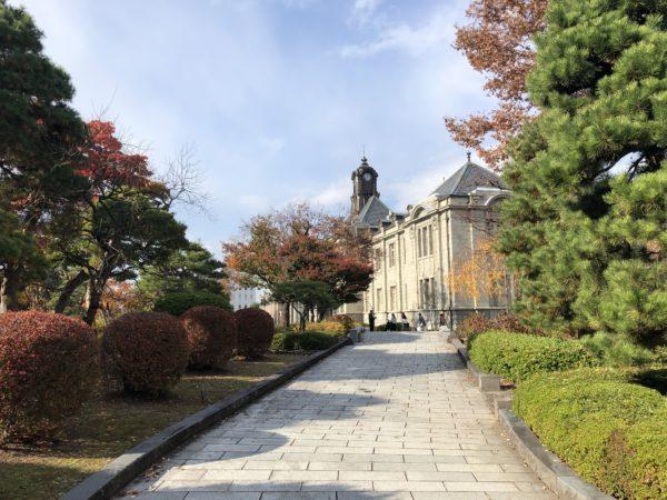 文翔館庭園(県政史緑地)