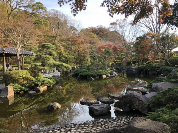 大磯城山公園(旧三井財閥別邸跡)