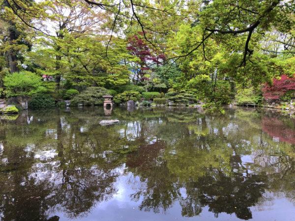 もみじ公園(旧宝幢寺庭園)