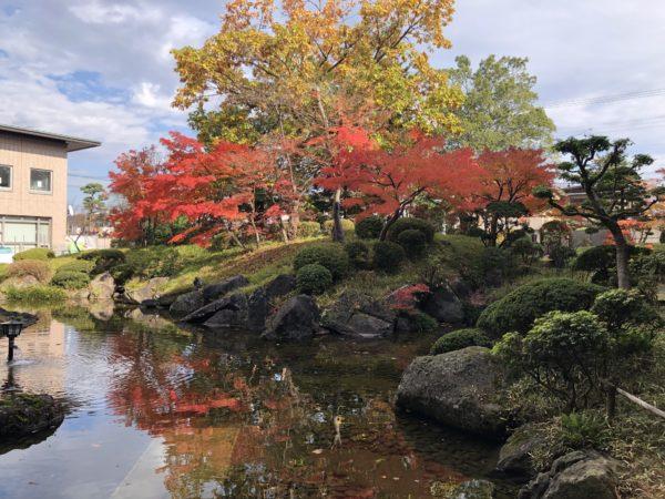 遊学館庭園(山形県立図書館)