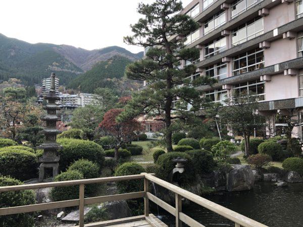 下呂温泉 望川館庭園