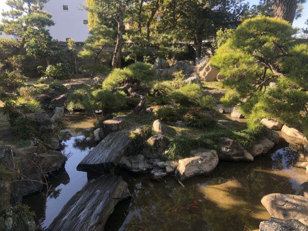 阿波十郎兵衛屋敷 鶴亀の庭