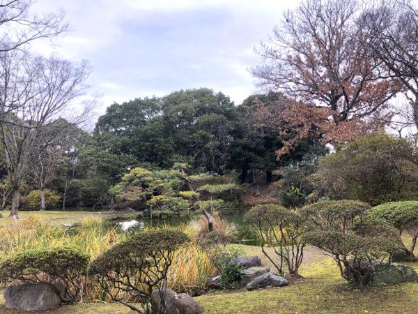 松井神社の茶庭