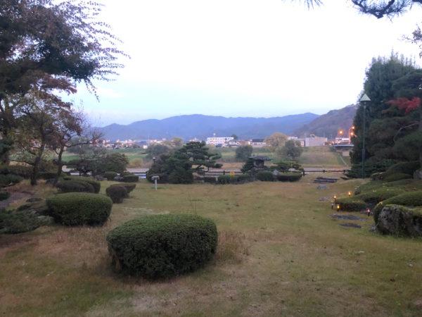 杉妻会館庭園