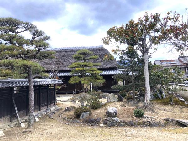 旧永井家庄屋屋敷庭園