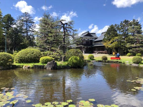 上杉記念館庭園(上杉伯爵邸)
