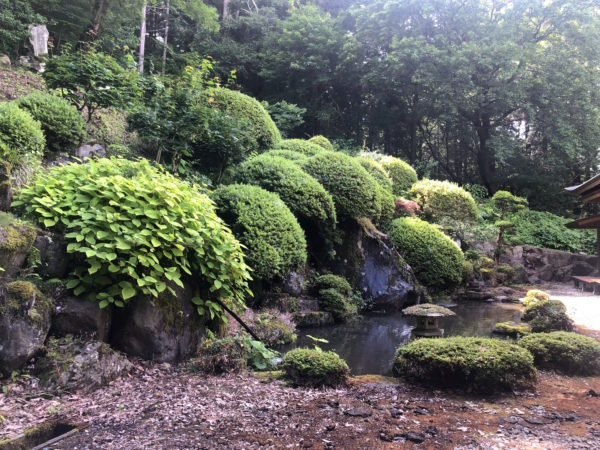 法華寺庭園