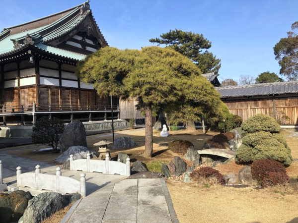 行徳寺町庭園群・徳願寺