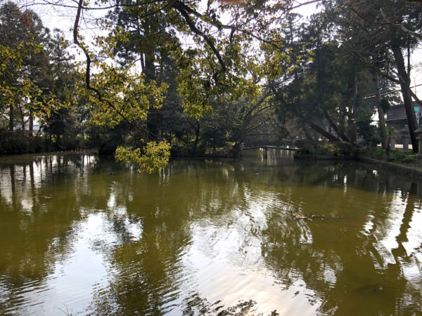 阿自岐神社庭園