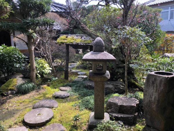 山川登美子記念館庭園