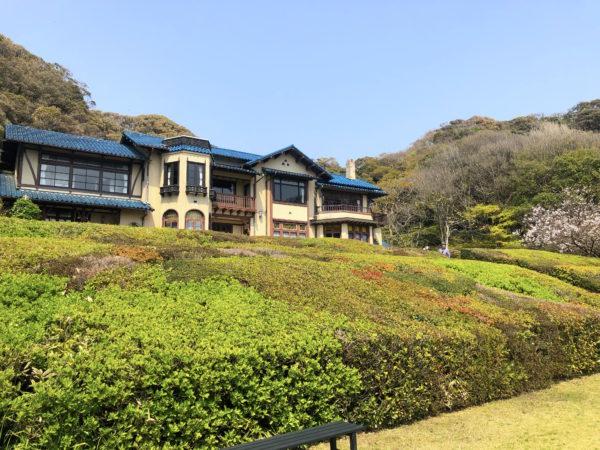 鎌倉文学館庭園