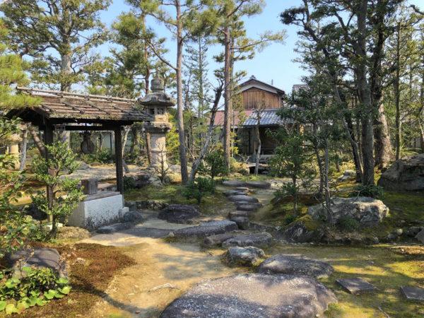 近江商人屋敷 外村宇兵衛邸庭園