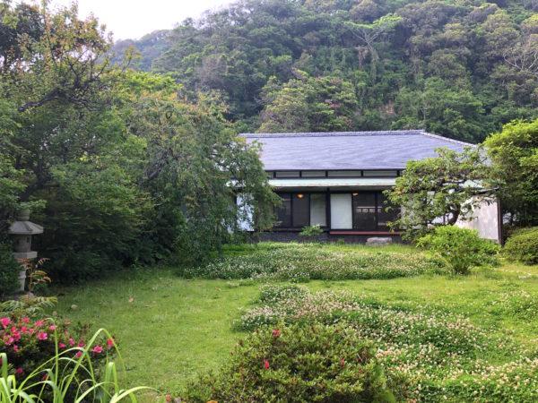 吉屋信子記念館庭園