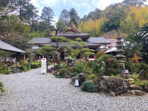 油山寺庭園