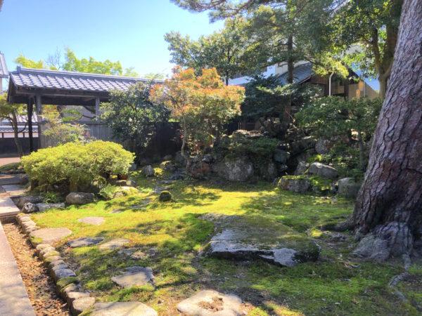 吉田東伍記念博物館庭園