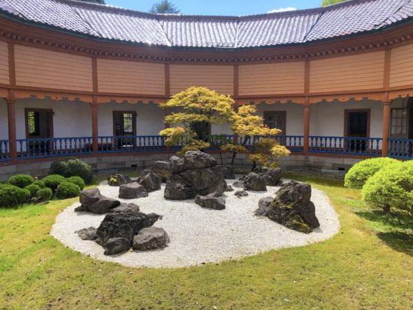 旧済生館本館(山形市郷土館)庭園
