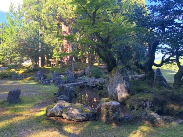 旧秀隣寺庭園(興聖寺)