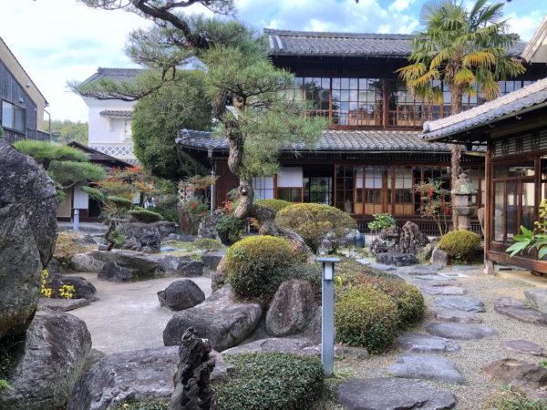 旧梶村氏庭園(城東むかし町家)