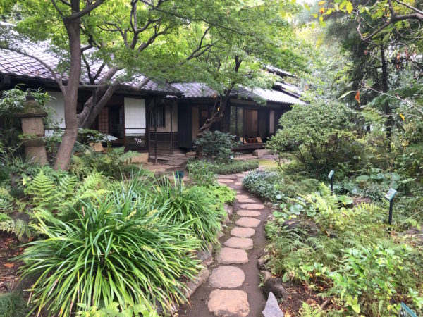 林芙美子記念館庭園