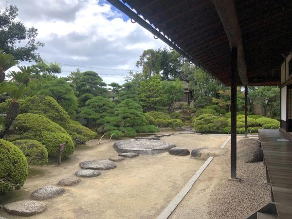 旧野﨑家住宅庭園