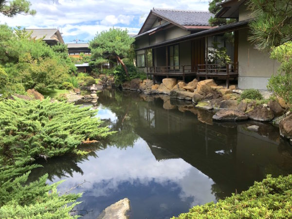 湯村常磐ホテル庭園