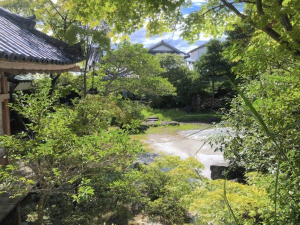 """屋島寺庭園""""雪ノ庭"""""""