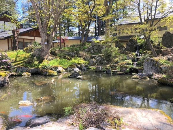 上杉神社庭園(米沢城跡)
