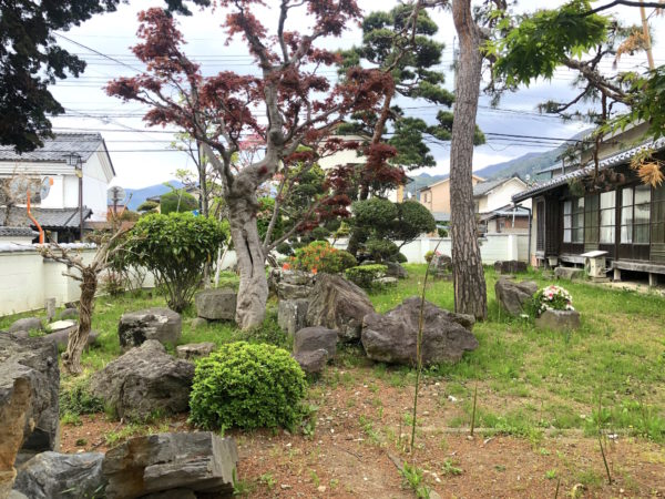 旧越家住宅庭園