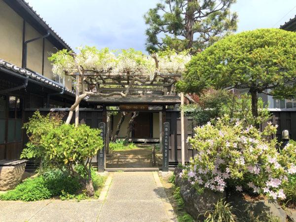 ふれあい館しらふじ(旧丸田医院)庭園