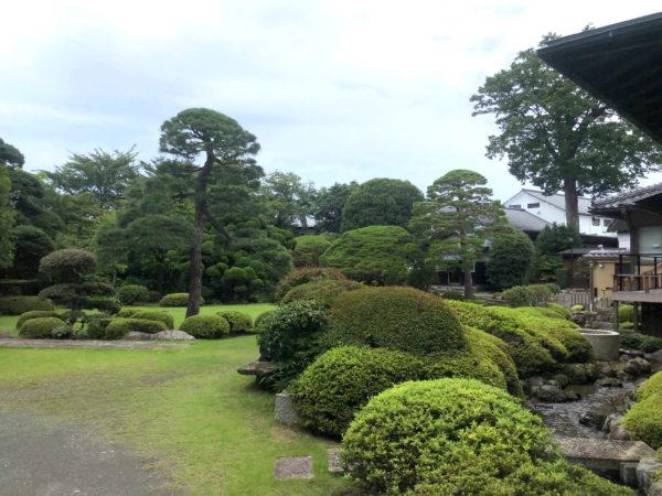 田村酒造場庭園