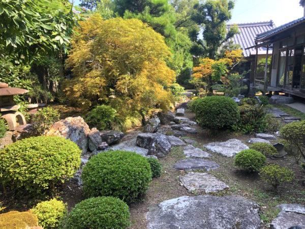 松井屋酒造場庭園