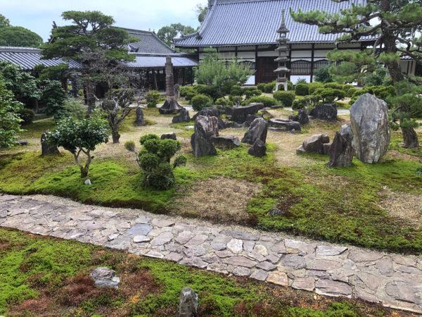 興聖寺庭園および琴坂