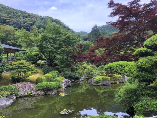 三室戸寺庭園
