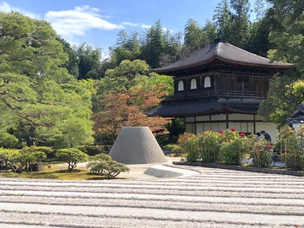 銀閣寺(慈照寺)庭園の新緑