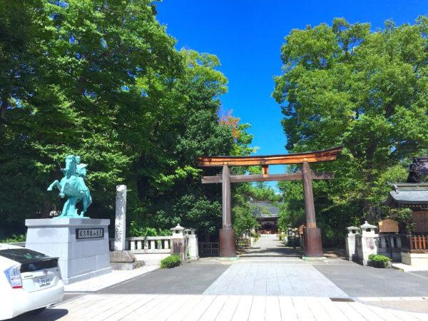 象山神社園池