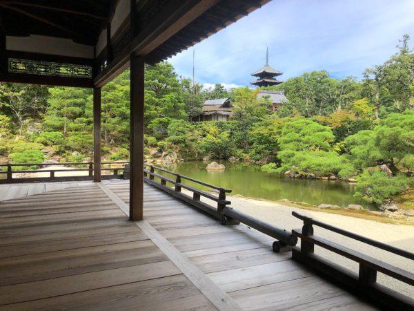 仁和寺庭園