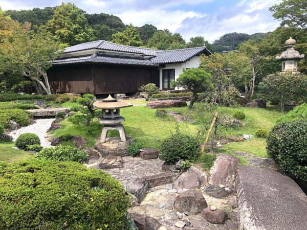 旧岡崎邸庭園