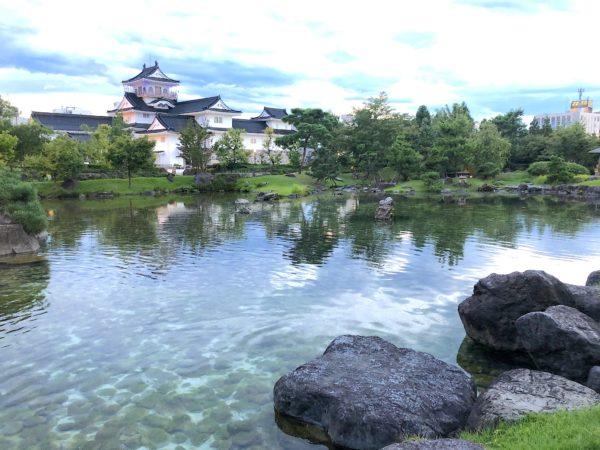 富山城址公園 日本庭園