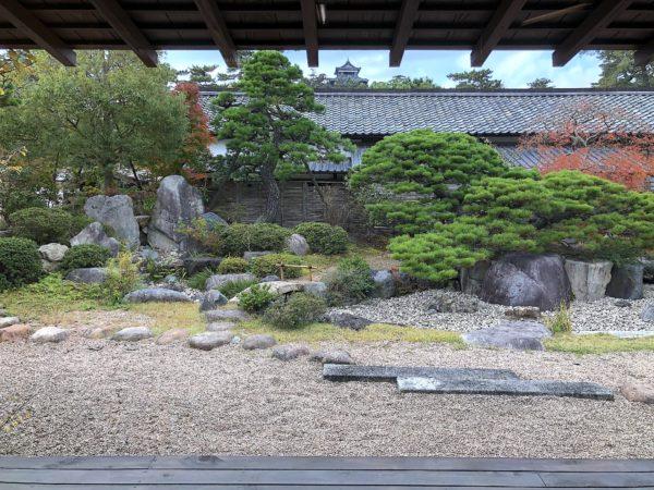 松江歴史館庭園