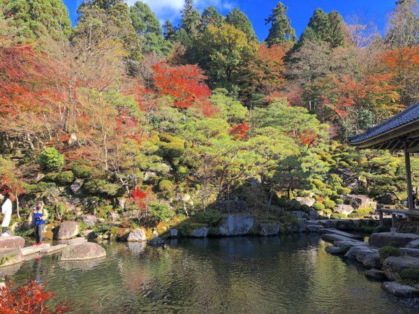 百済寺喜見院庭園