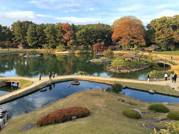 岡山後楽園(秋)