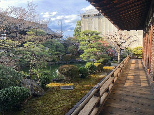 東寺小子房庭園