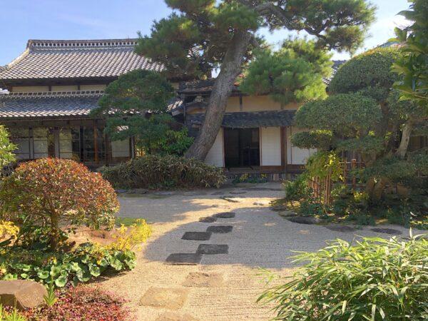 八雲本陣(木幡家住宅)庭園