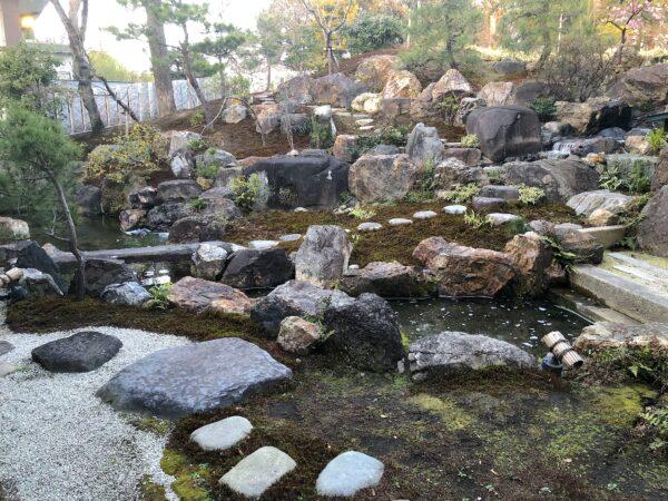 石切剣箭神社庭園
