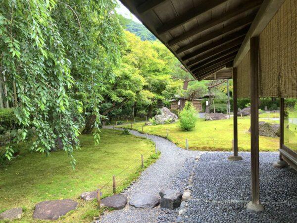 湯豆腐 嵯峨野庭園